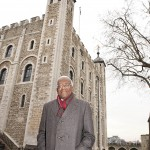 Trevor McDonald at the Tower of London