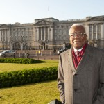 Trevor McDonald at Buckingham Palace, London