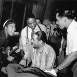 4 - SRT with Duke Ellington _ Cab Calloway in 1939. Photo by Charles Peterson