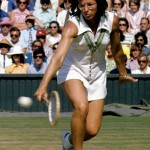 Billie-Jean King v Evonne Goolagong