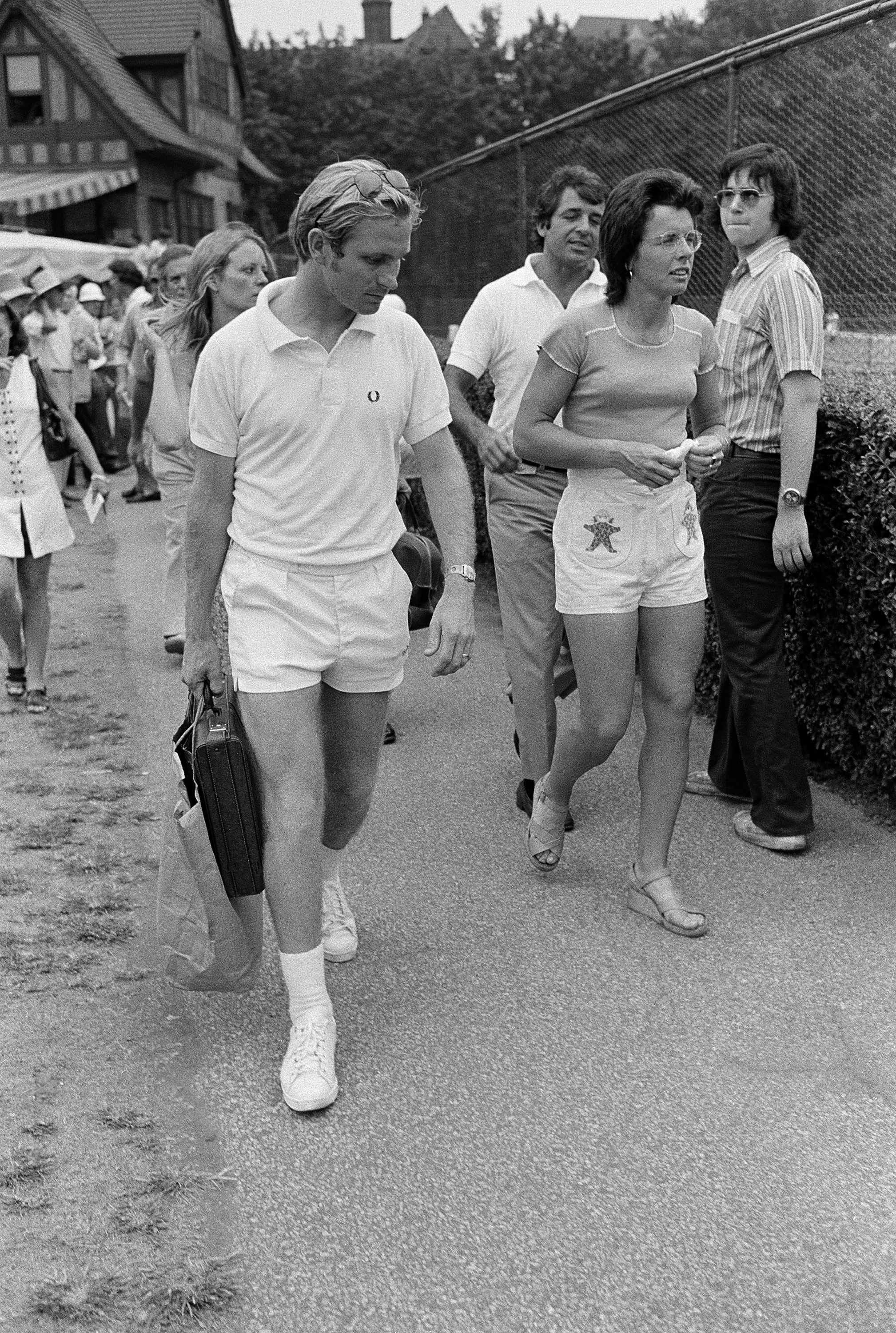 Billie Jean King ForestHills USOpen 1973