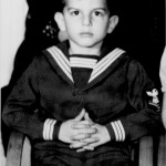 Little Marvin in Sailor Suit