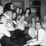 Marvin Hamlisch Singing with Actresses