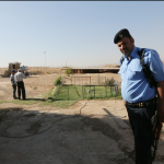 Guards on Mosul Mound 2