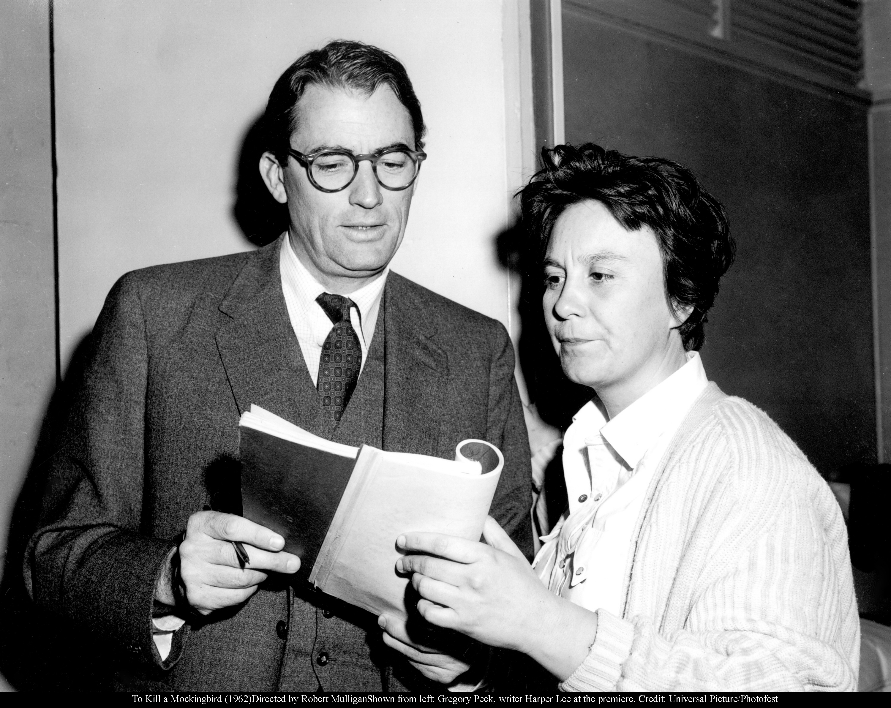 harper lee american masters press release pressroom  to kill a mockingbird 1962 directed by robert mulliganshown from left gregory peck