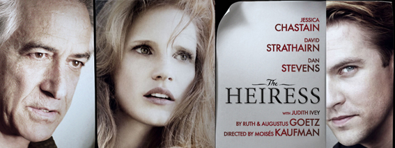 The Heiress on Broadway