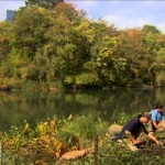 Gardeners from the Central Park Conservancy keep the park green. Photo courtesy of NYC Media.