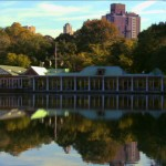 Central Park's famous Loeb Boathouse. Photo courtesy of NYC Media.