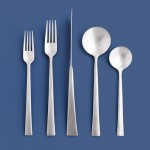 Gerald Gulotta - Industrial Design, Alumnus; Rondure Flatware for Dansk, 1997. Courtesy Lenox Corporation.