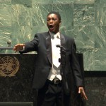 "A highlight of Thesele's visit to New York was his performance at the UN General Assembly on Nelson Mandela's birthday in 2012. ""I thought of the opportunities we didn't have then and the opportunities we have now,"" he said. ""It was an unbelievable experience for me."""