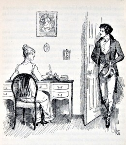 Elizabeth and Mr Darcy by Hugh Thomson, 1894