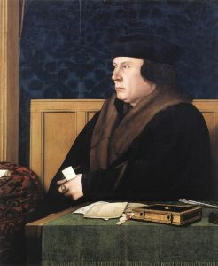 Hans Holbein the Younger's portrait of Thomas Cromwell.