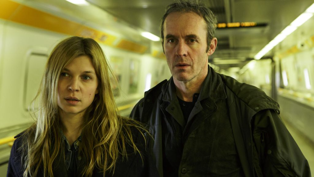 "The French detective Elise Wassermann (Clémence Poésy) and British detective Karl Roebuck (Stephen Dillane) join forces to stop a serial killer claiming to be a Truth Terrorist in ""The Tunnel"" on PBS."