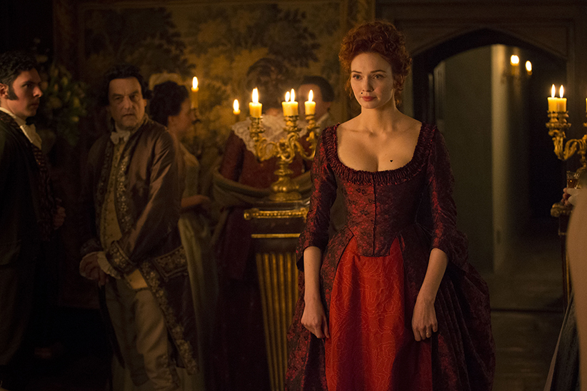 Poldark, Season 2 MASTERPIECE on PBS Episode Eight Sunday, November 20th at 9pm ET on PBS Demelza and Ross wage bitter war. Elizabeth postpones a big event. Demelza toys with temptation. Ross's good deed is repaid. Lady luck pays a visit. Shown: Eleanor Tomlinson as Demelza Courtesy of Mammoth Screen/BBC and MASTERPIECE