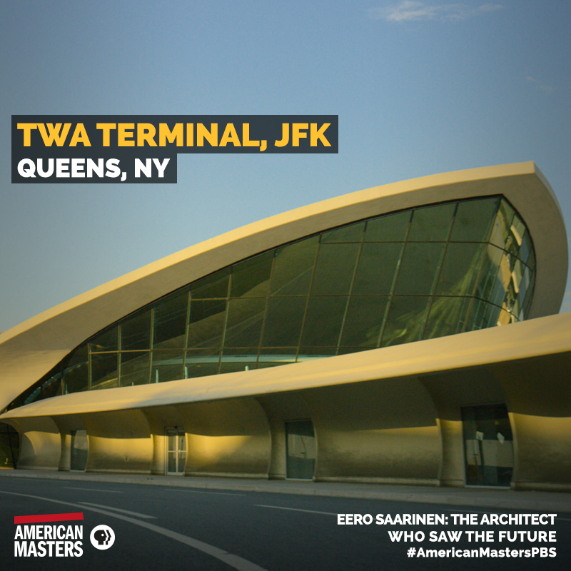 Eero saarinen 39 s space the architect 39 s far out works for Hotel at jfk airport terminal