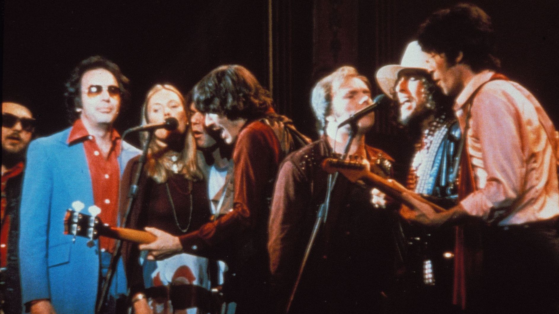 The Band in the Last Waltz