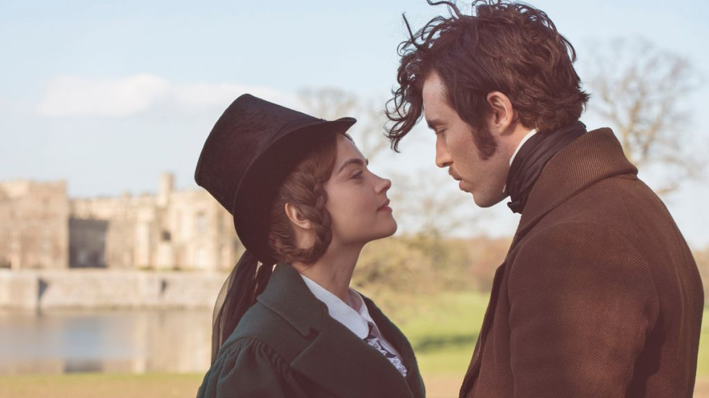 """Masterpiece: Victoria: Sundays, January 22 – February 19, 2017 at 9pm ET. Season Finale on Sunday, March 5 at 9pm ET. Episode Six – """"The Engine of Change"""". With a child on the way, Victoria must choose a regent in case she dies during childbirth. The Tory party disputes her choice, but she and Albert turn the tables with the aid of the latest in 19th-century technology. Shown from left to right: Jenna Coleman as Victoria and Tom Hughes as Prince Albert"""
