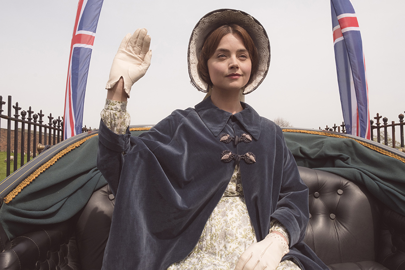 "Victoria On MASTERPIECE on PBS *SPECIAL TWO-HOUR PREMIERE* SUNDAY, JANUARY 15, 2017 AT 9PM ET Continues Sundays, January 22 – February 19, 2017 at 9pm ET Season Finale on Sunday, March 5 at 9pm ET Episode Seven – ""Young England"" Sunday, March 5 at 9pm ET On the verge of delivering her first child, Victoria spurns advice and ventures among her subjects, attracting the devoted and demented alike. Miss Skerrett and Francatelli reach their decisive moment. Shown: Jenna Coleman as Victoria (C) ITV Plc"