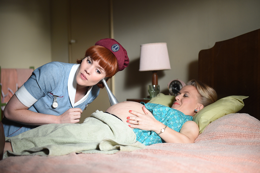 Emerald Fennell as Patsy Mount, Rachel Denning as Penny Reed