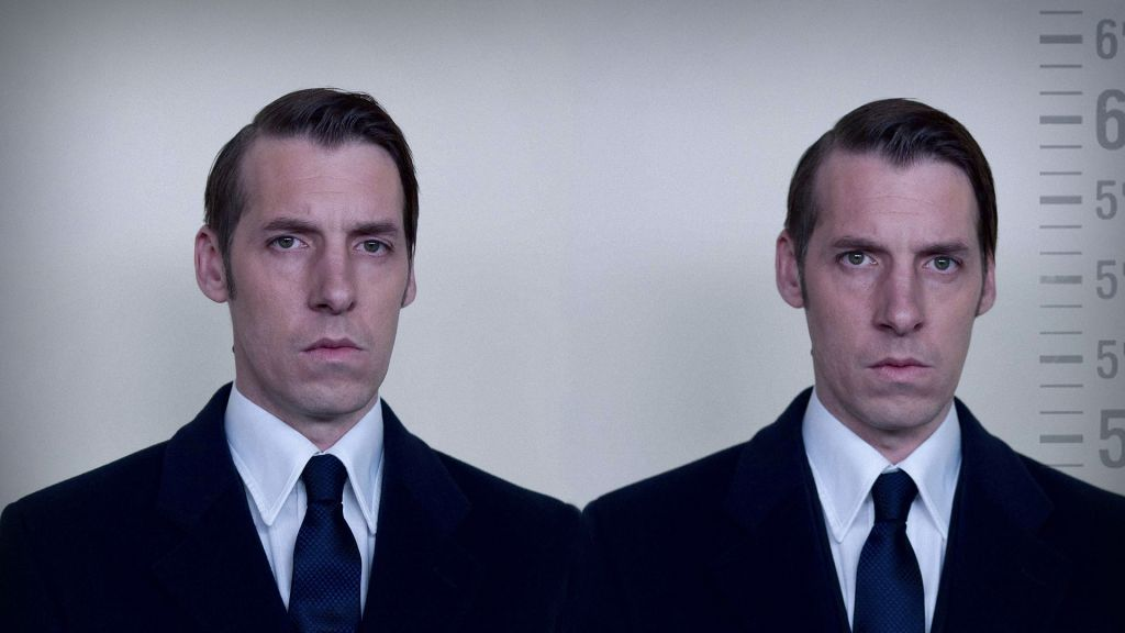 Craig Parkinson as the Kray twins