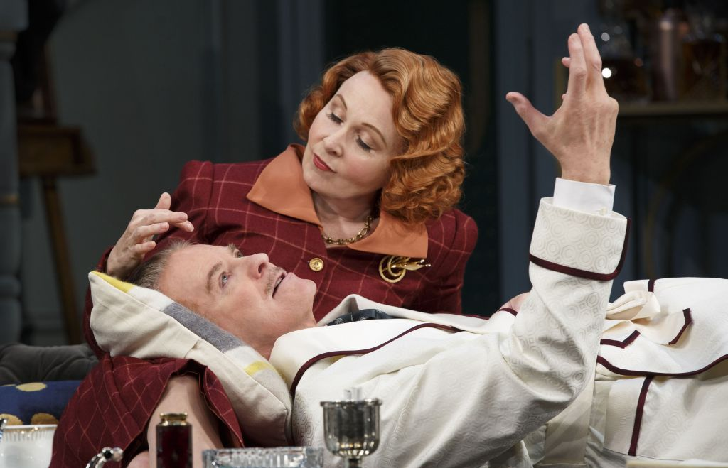 Present Laughter with Kate Burton and Kevin Kline.