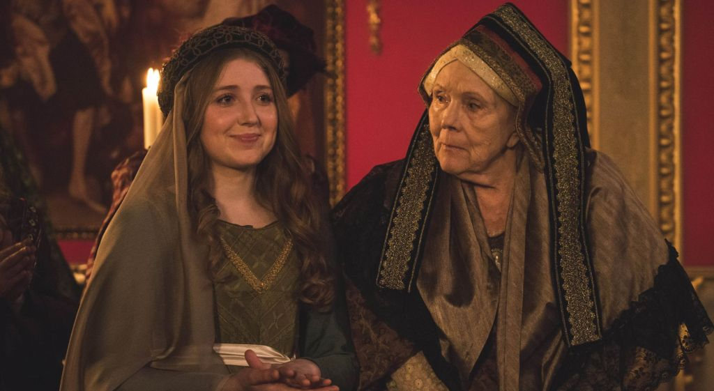 Bebe Cave and Diana Riggs in Victoria Season 2, Episode 2 on PBS