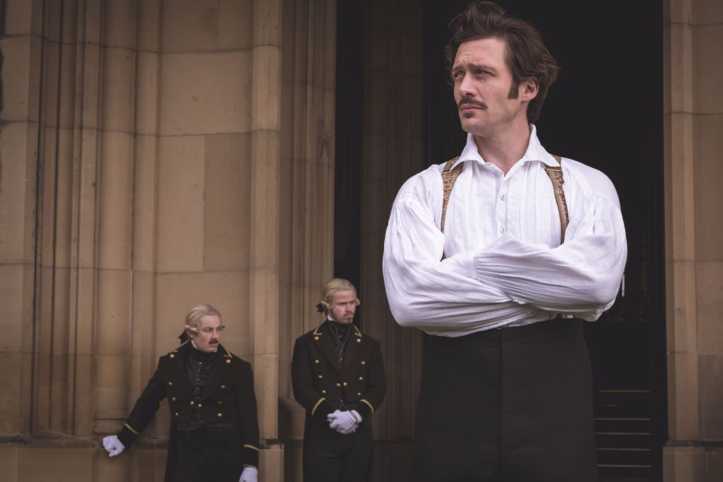 David Oakes as Ernest, brother to Albert.