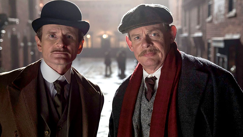 Arthur & George features Martin Clunes from Doc Martin
