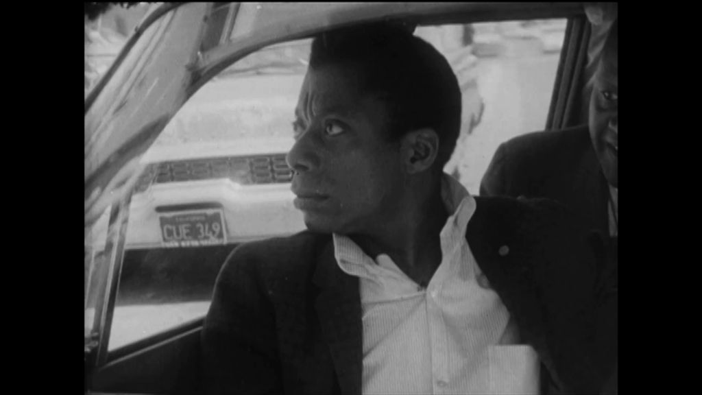 Still from Take This Hammer (1963), featuring James Baldwin.