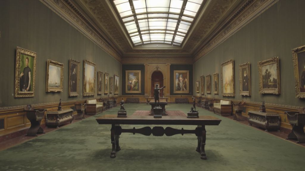 The West Gallery in The Frick Collection.