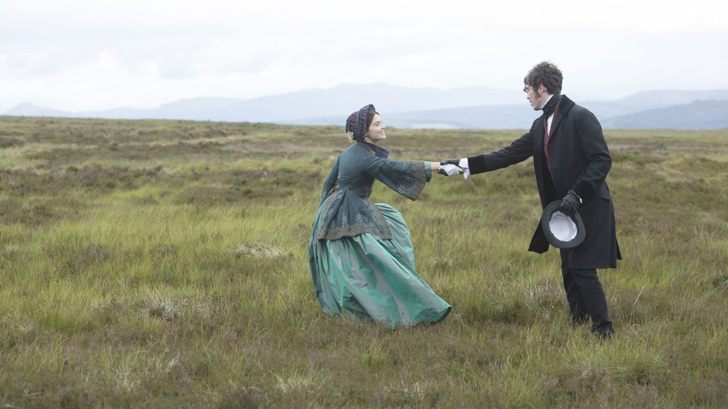 "Victoria, Season 2 MASTERPIECE. Episode Five - ""The King Over the Water"". Feeling suffocated by the weight of the crown, Victoria escapes with her court to the Scottish Highlands. She and Albert revel in the opportunity to be a normal husband and wife. Left to right: Jenna Coleman as Victoria and Tom Hughes Albert. ©ITVStudios2017 for MASTERPIECE"