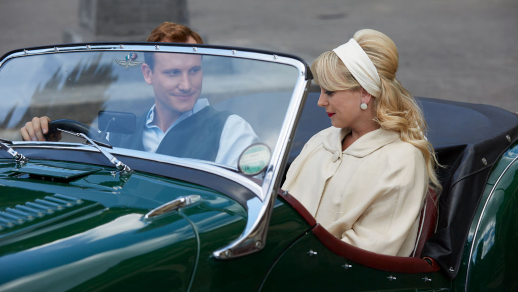 Call the Midwife Season 7, Episode 5. Christopher (JACK HAWKINS) drives Nurse Trixie Franklin (HELEN GEORGE) to the airport. When will she return? Photo: Sophie Mutevellian