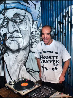 DJ Bobbito Garcia, orig. photo: Francisco Reyes