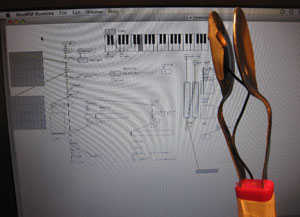 Subwoofing Spoons with Max/MSP