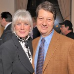 Linda Evans and WNET President and CEO Neal Shapiro