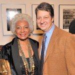 Nichelle Nichols and WNET President and CEO Neal Shapiro