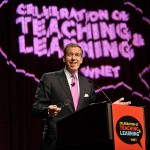 NBC Nighty News host Brian Williams at the 2011 Celebration of Teaching and Learning
