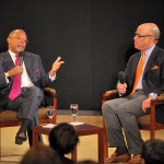 Prof. Gates and Darren Walker, Ford Foundation Vice President of Education, Creativity and Free Expression