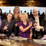 Ray Isle, Steve Buscemi, Stephanie Carraway, Emily Bergl, Stanley Tucci, and Chef Joe Bastianich