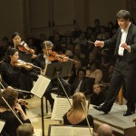 Conductor Alan Gilbert and the New York Philharmonic (Joesph Sinnott)
