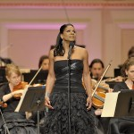 Singer and actress Audra McDonald performs (Joseph Sinnott)
