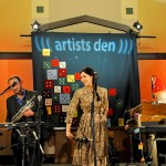 Lisa Hannigan performs at the Unitarian Universalist Church of Montclair, New Jersey (Adam Macchia)
