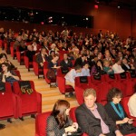 The audience before the screening at the Times Center. (Joseph Sinnott/WNET)