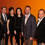The cast following the panel discussion. (Joseph Sinnott/WNET)