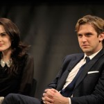Michelle Dockery (Lady Mary) and Dan Stevens (Matthew Crawley) (Joseph Sinnott/WNET)