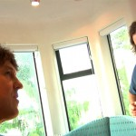 Cameron Crowe and Eddie Vedder at Eddie's house. Photo courtesy of Vinyl Films & Tremolo Productions