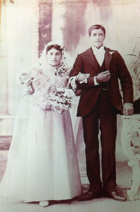 My mother's grandparents - Josephine and Charles Mangaracina.