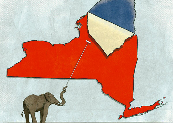 Seeing Red: Is New York Getting More Conservative?