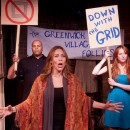 "Actors perform ""Resist the Grid,"" a song about the city's decision to create Manhattan's famous grid pattern in 1811. Photo Courtesy of Doug Silver"