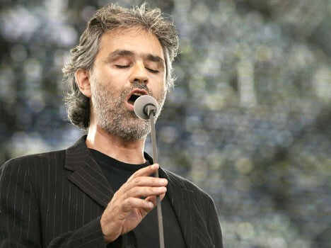 Andrea Bocelli to Perform Free in Central Park